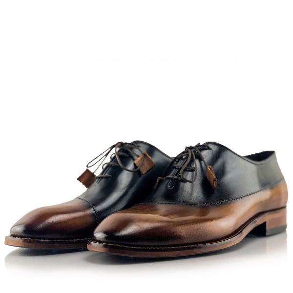 Pantofi eleganți din piele naturală MASSIMO 1