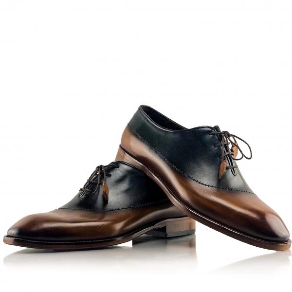 Pantofi eleganți din piele naturală MASSIMO 0