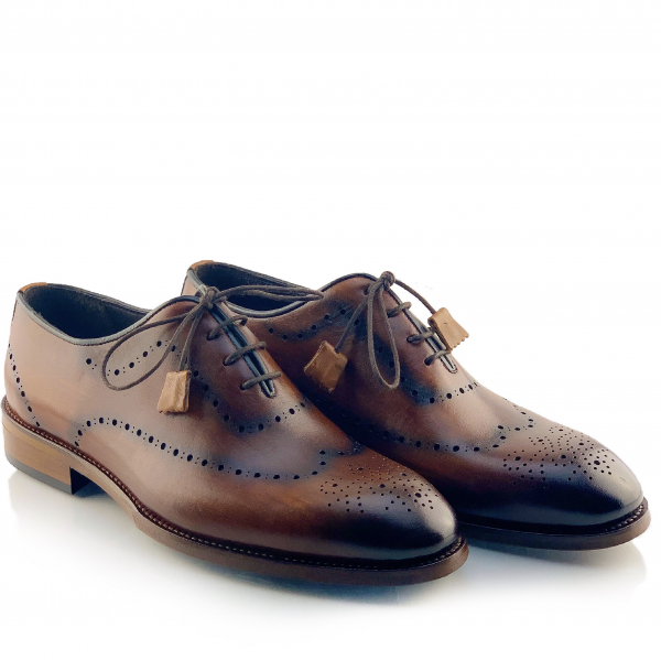 Pantofi eleganți din piele naturală Orlando Maro 1