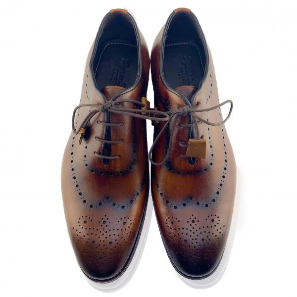 Pantofi eleganți din piele naturală Orlando Maro 5