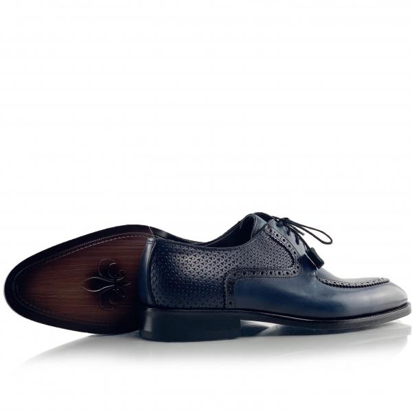 Pantofi eleganți din piele naturală ROMAN 4