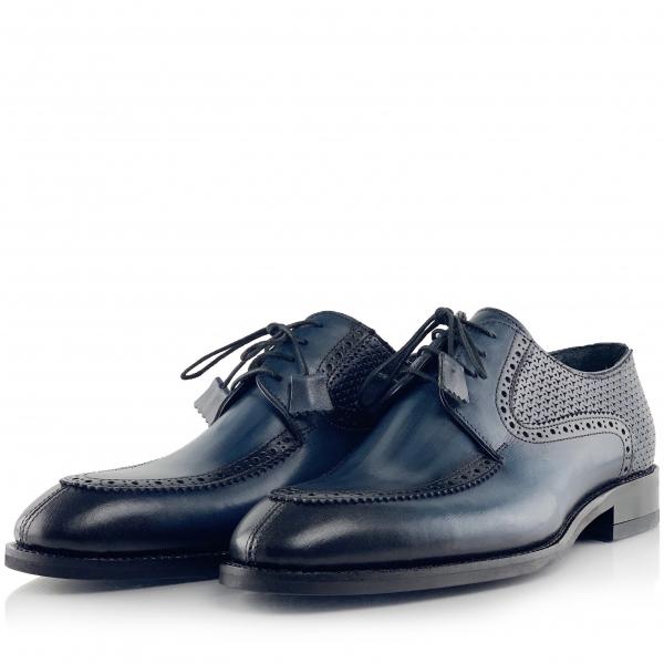 Pantofi eleganți din piele naturală ROMAN 1