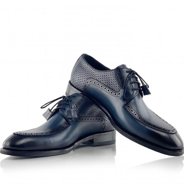 Pantofi eleganți din piele naturală ROMAN 0