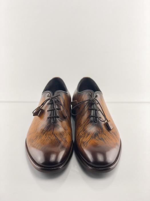 Pantofi eleganți din piele naturală FRANCESCO 5