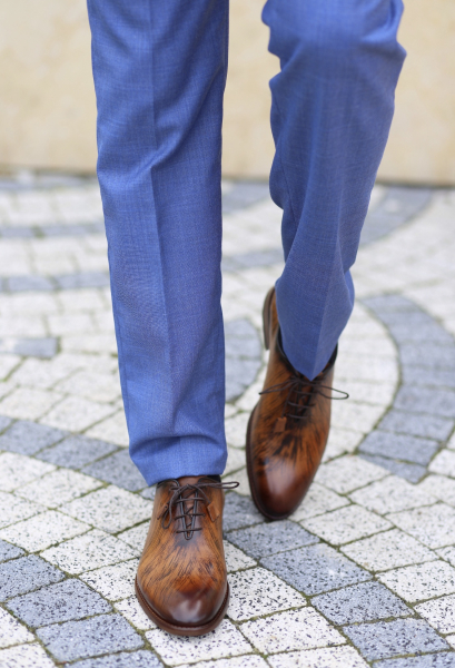 Pantofi eleganți din piele naturală FRANCESCO 6