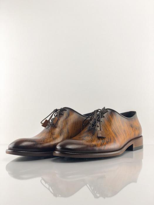 Pantofi eleganți din piele naturală FRANCESCO 2