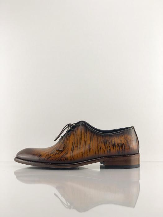 Pantofi eleganți din piele naturală FRANCESCO 3