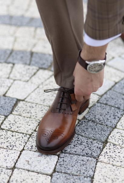 Pantofi eleganți din piele naturală MATTEO 7