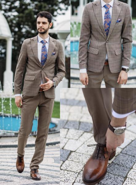 Pantofi eleganți din piele naturală MATTEO 6