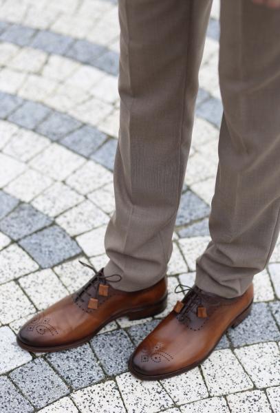 Pantofi eleganți din piele naturală MATTEO 0