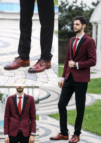 Pantofi eleganți din piele naturală OSCAR 6