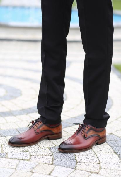 Pantofi eleganți din piele naturală OSCAR 0