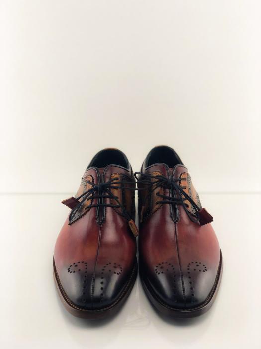 Pantofi eleganți din piele naturală OSCAR 5