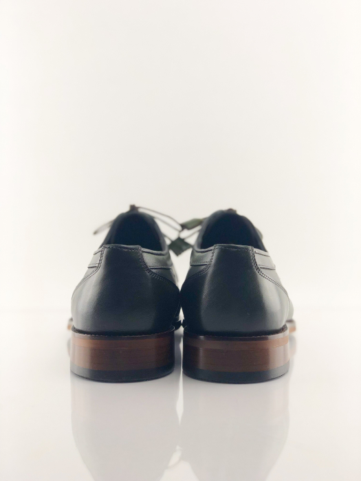 Pantofi eleganți din piele naturală DAVIS - verde închis 4