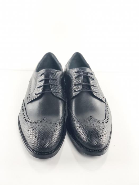 Pantofi eleganți din piele naturală OXFORD 5