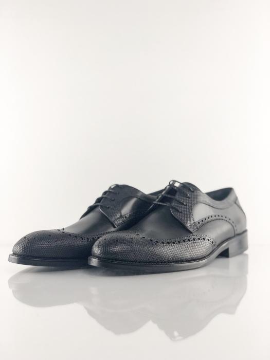 Pantofi eleganți din piele naturală OXFORD 2