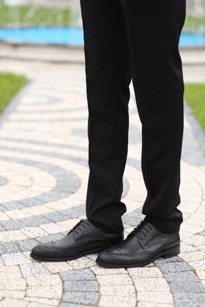 Pantofi eleganți din piele naturală OXFORD 0