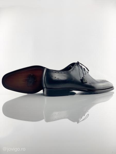 Pantofi eleganți din piele naturală ALBERTO 8