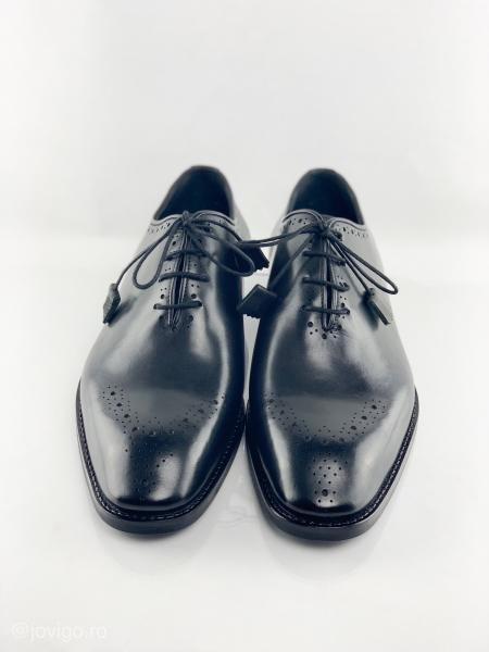Pantofi eleganți din piele naturală ALBERTO 3