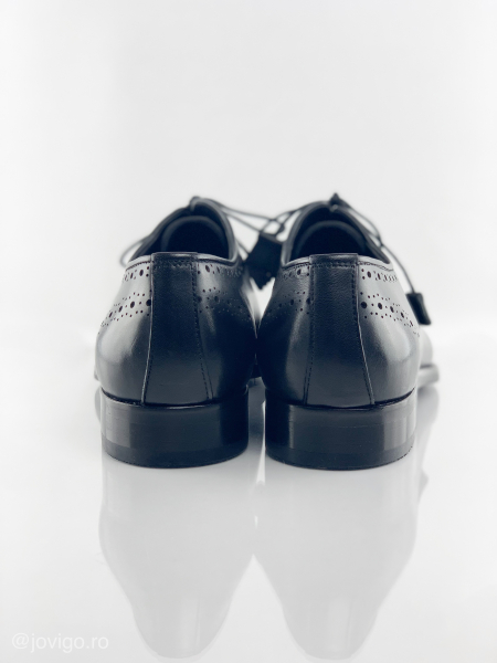 Pantofi eleganți din piele naturală ALBERTO 7