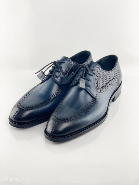 Pantofi eleganți din piele naturală ROMAN 5