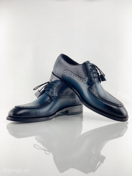 Pantofi eleganți din piele naturală ROMAN 9