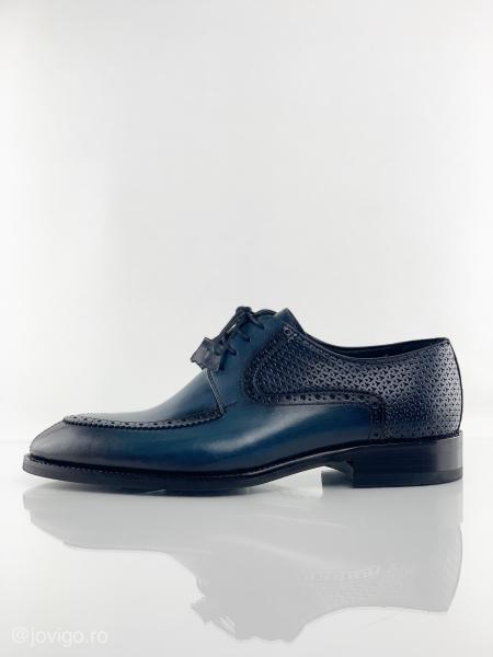 Pantofi eleganți din piele naturală ROMAN 3