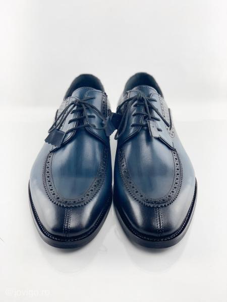 Pantofi eleganți din piele naturală ROMAN 6