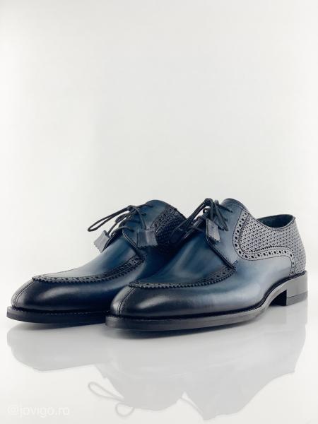 Pantofi eleganți din piele naturală ROMAN 2