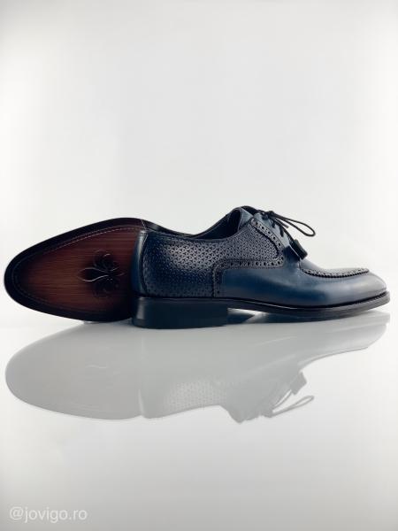 Pantofi eleganți din piele naturală ROMAN 8