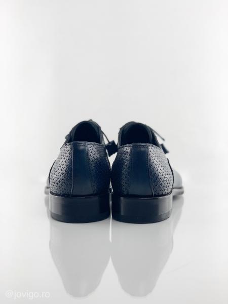 Pantofi eleganți din piele naturală ROMAN 7