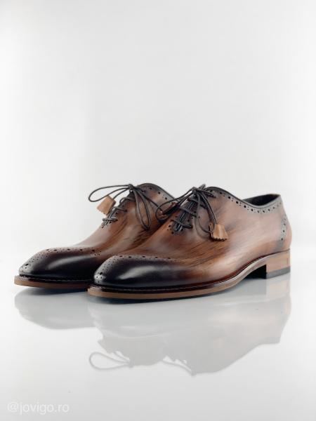 Pantofi eleganți din piele naturală ERIK 6