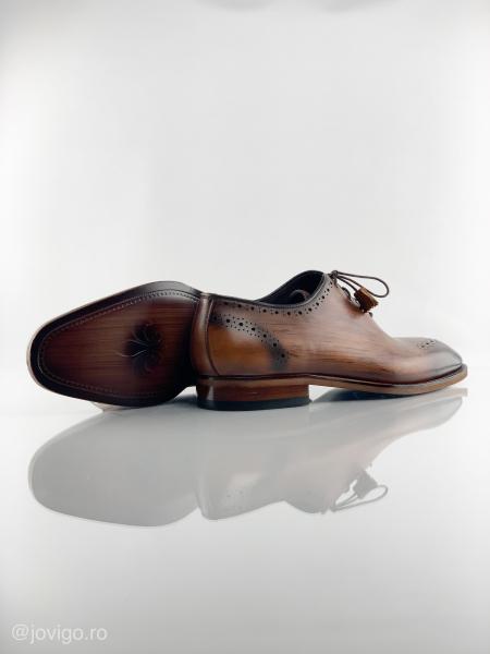 Pantofi eleganți din piele naturală ERIK 2