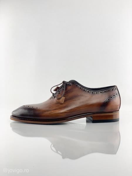 Pantofi eleganți din piele naturală ERIK 8