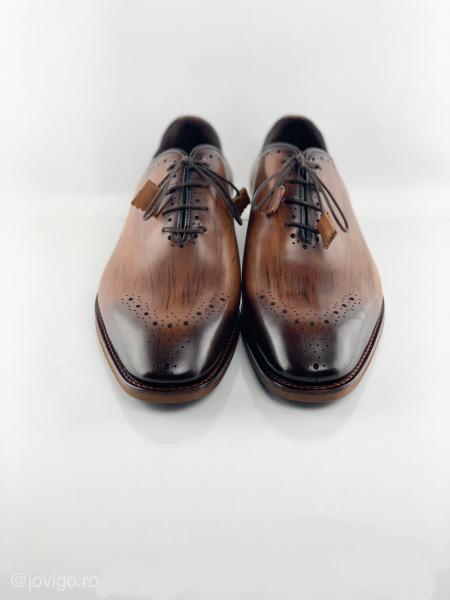 Pantofi eleganți din piele naturală ERIK 4