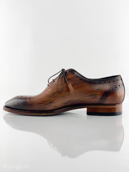 Pantofi eleganți din piele naturală ERIK 5
