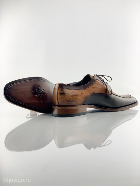 Pantofi eleganți din piele naturală ANTONIO 6