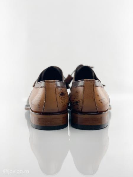Pantofi eleganți din piele naturală ANTONIO 7