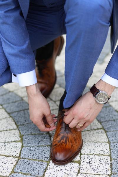Pantofi eleganți din piele naturală FRANCESCO 0