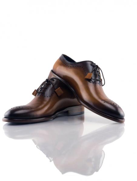 Pantofi eleganți din piele naturală MATTEO 1
