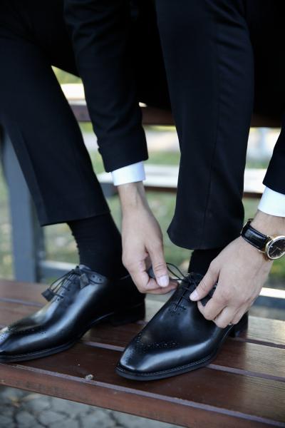 Pantofi eleganți din piele naturală ALBERTO 0
