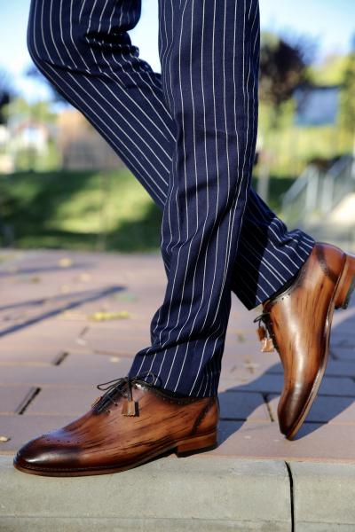 Pantofi eleganți din piele naturală ERIK 0