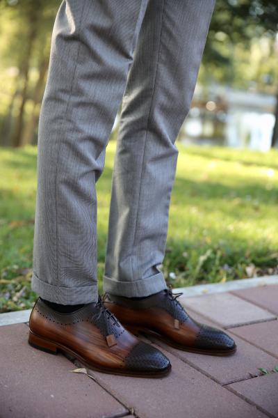 Pantofi eleganți din piele naturală VIKTOR 0