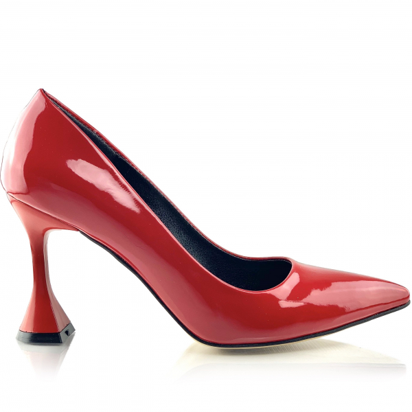 Pantofi Indira Roșii 1