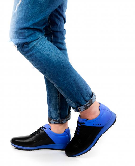 Pantofi sport din piele Blue Motion 3