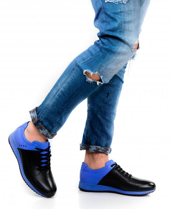 Pantofi sport din piele Blue Motion 1