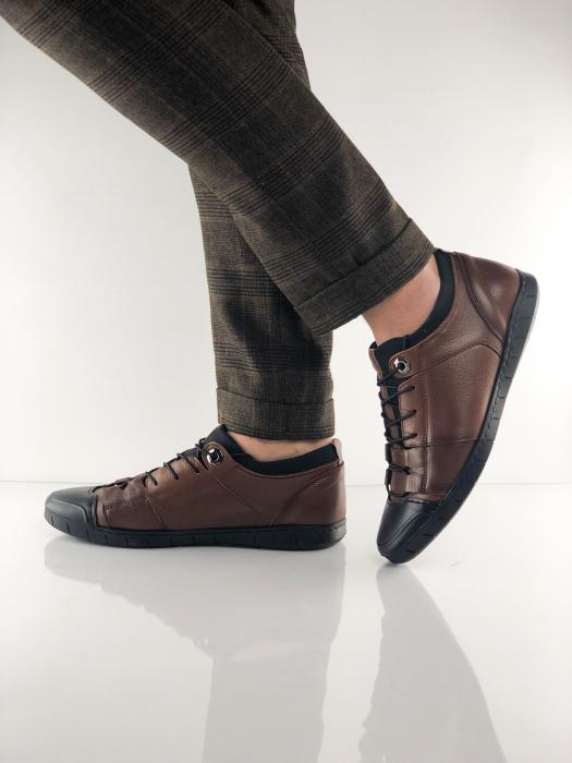 Pantofi sport din piele BROWN BEAR 6