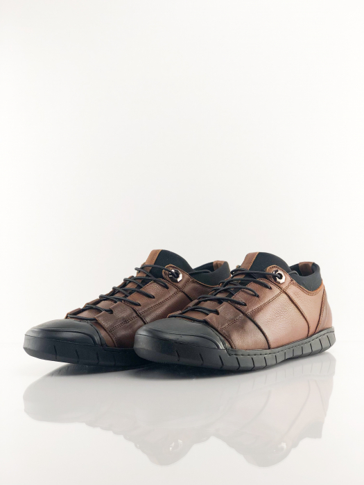 Pantofi sport din piele BROWN BEAR 1