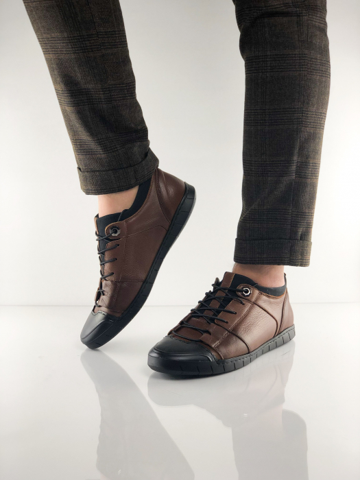 Pantofi sport din piele BROWN BEAR 0
