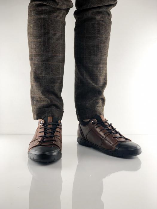 Pantofi sport din piele BROWN BEAR 4